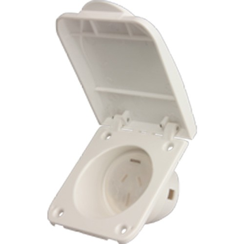 Caravan Motorhome Rv 10amp Or 15 Amp Power Outlet Socket