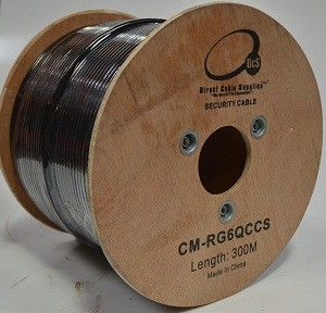 Rg6 Quad Shield Coaxial Cable75 Ohm 300m Cable Pro