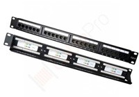 PATCH PANELS CAT5E &CAT6
